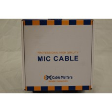Cable Matters 2 Pack XLR Male to Female Extension Cable, 6 Foot