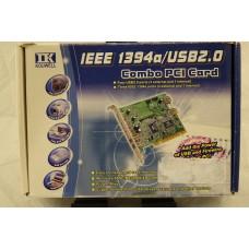 Kouwell Firewire / USB 2 PCI Card