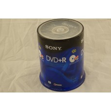 Sony DVD+R 100 Pack