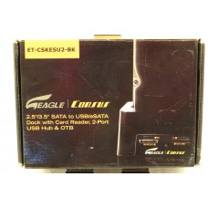 Eagle Consus SATA to USB/eSATA Dock with Media Card Reader