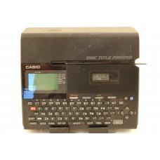 Casio CW-K85 Disc Title Printer with Keyboard