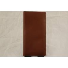 Cutter & Buck Travel Passport Leather Wallet & Box
