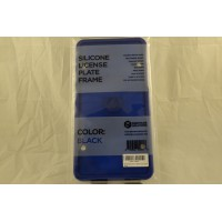Rightcar Solutions Silicone License Plate Frame, Blue